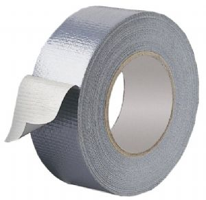 SILVER CLOTH TAPE 50mmx10m